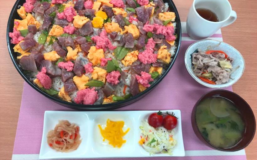 400円にて、満足できる手料理の昼食